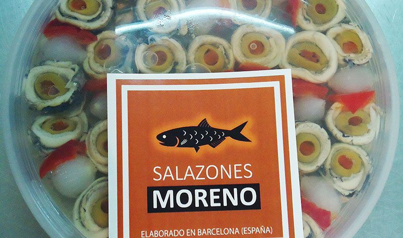 filetes de anchoa de Salazones Moreno
